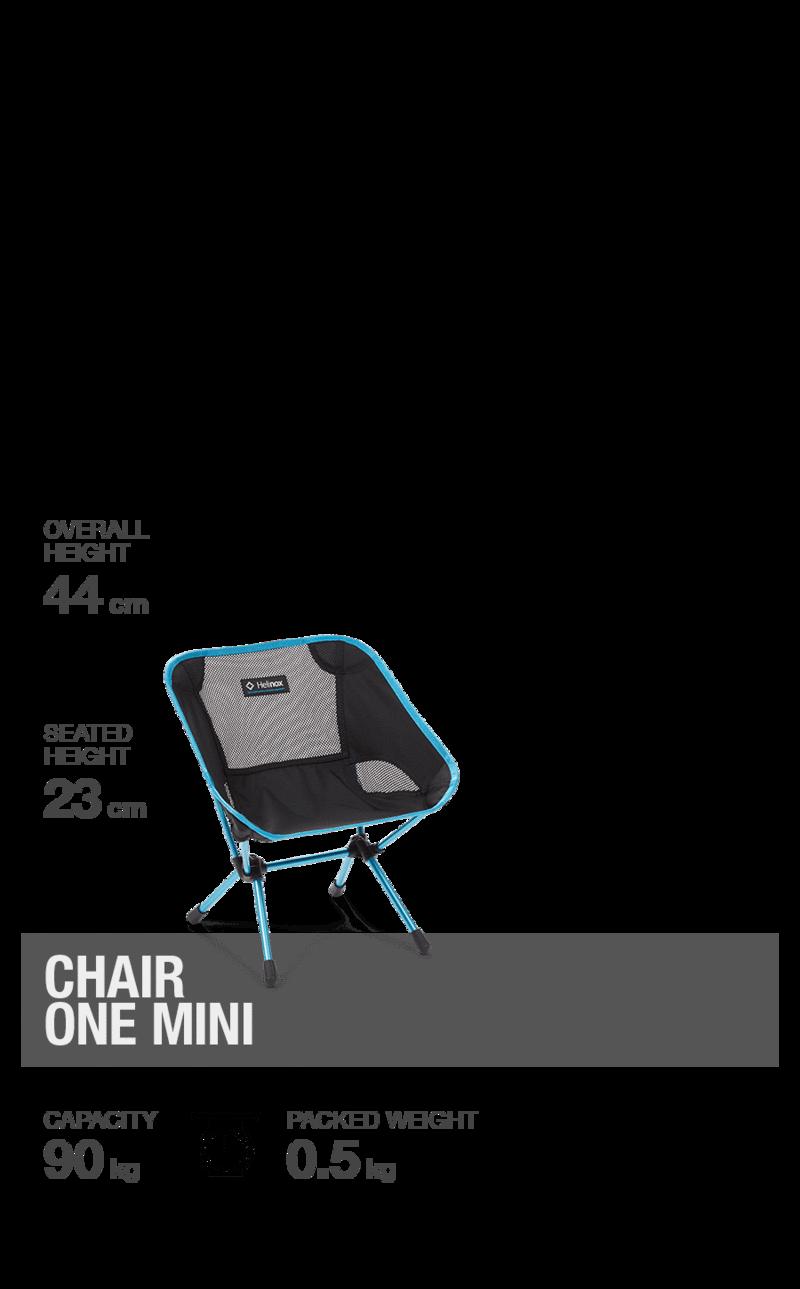 Helinox Chair One Mini schwarz
