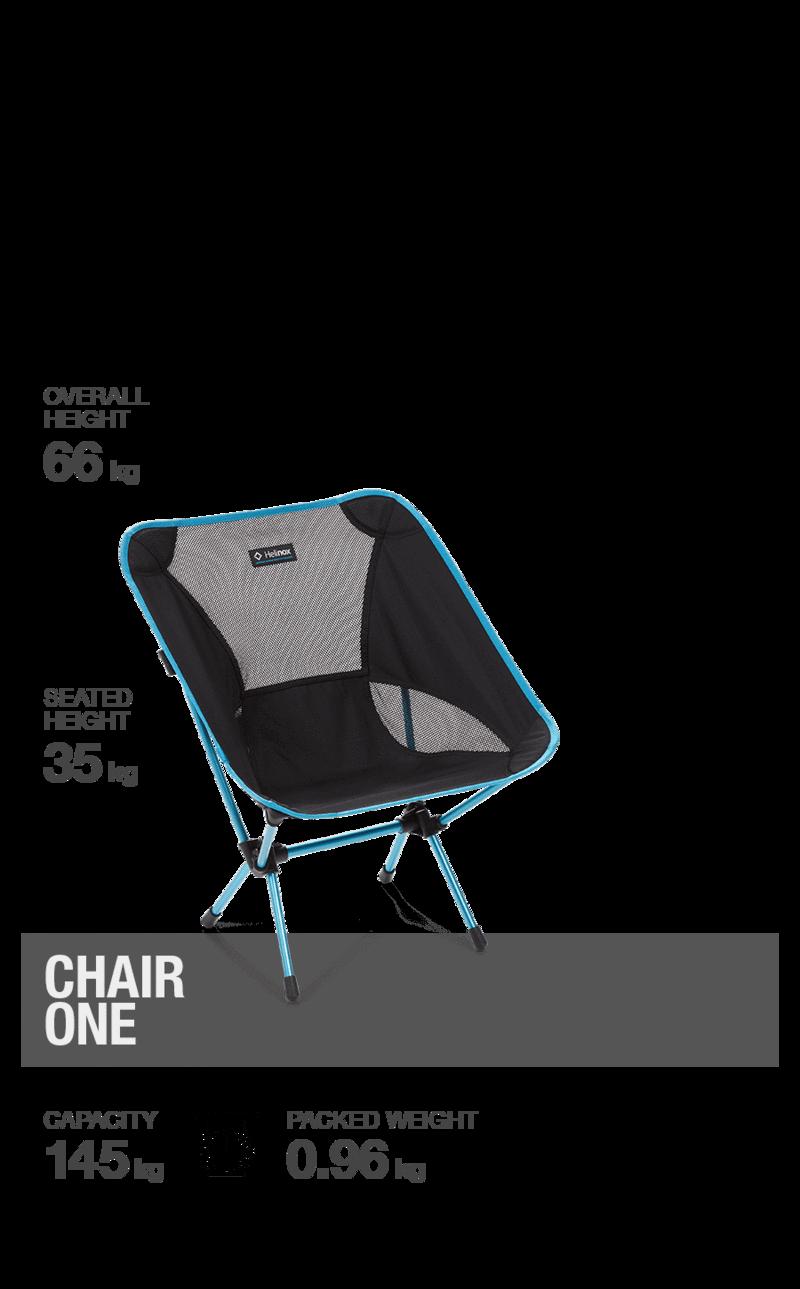 Helinox Chair One schwarz
